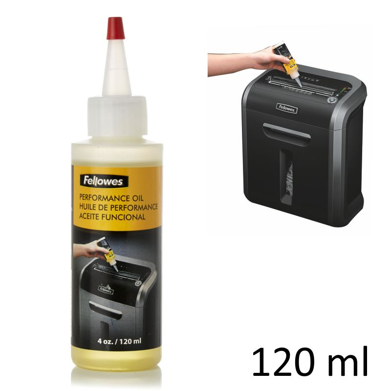 Comprar Aceite lubricante cuchillas destructoras Fellowes 120 ml
