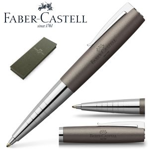 Faber-Castell Loom metalic Gris metal, bolígrafo regalo