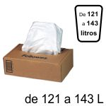Bolsas residuos para destructoras Fellowes 121-143 L. C/50