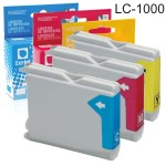 Brother LC1000 compatible cartucho tinta cada color