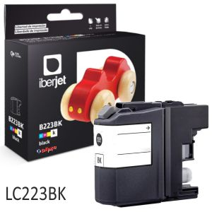 Brother LC223BK LC227XL Compatible negro 1000 pags
