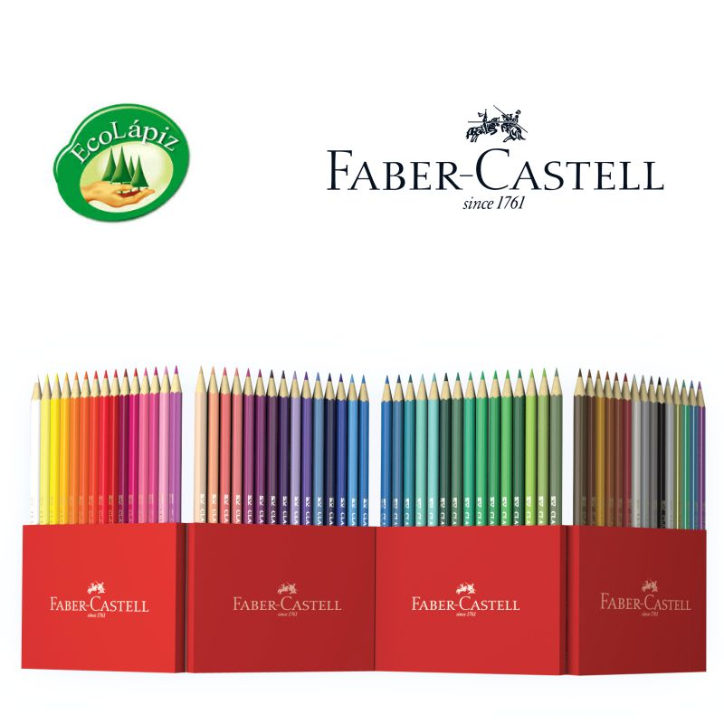 caja 60 lapices de color faber castell 111260