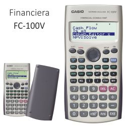 Casio FC-100V Calculadora Financiera