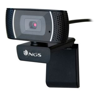 Webcam NGS XPressCam 1080 Full HD, Cámara web con micrófono