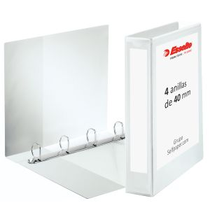 Carpeta canguro Esselte Plus 4 anillas 40mm personalizable