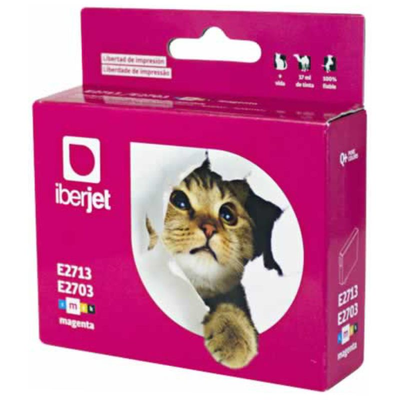 cartucho 27xl t2713 magenta compatible