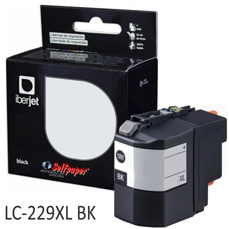 Comprar Cartucho Compatible Brother LC229XLBK Negro 58ml