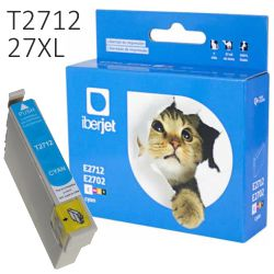 Cartucho Compatible Epson 27XL T2712C color Cyan