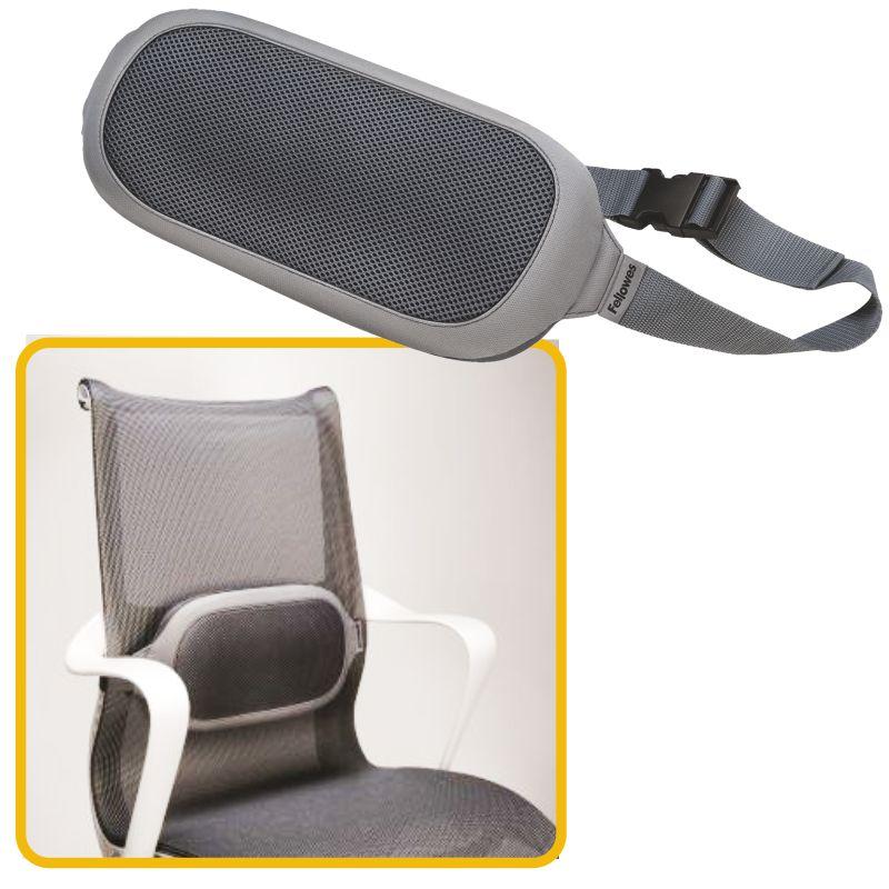 Cojines Lumbares para sillas de oficina, Mercamaterial.