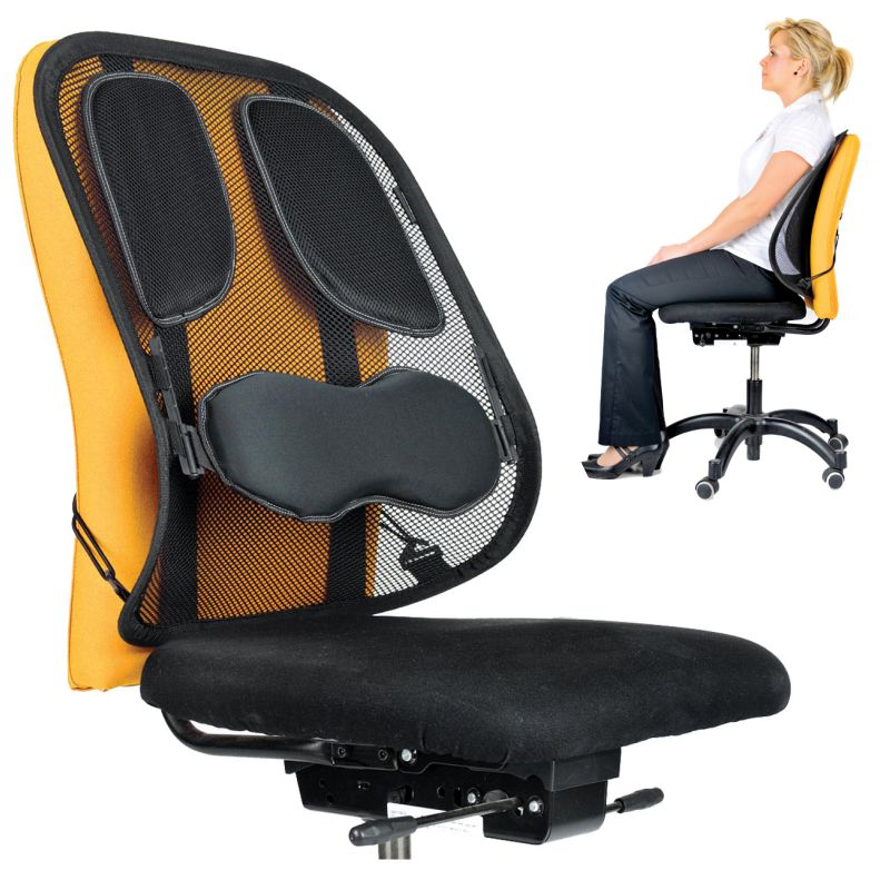 Cojín respaldo lumbar para silla Fellowes 8029901, Mercamaterial.