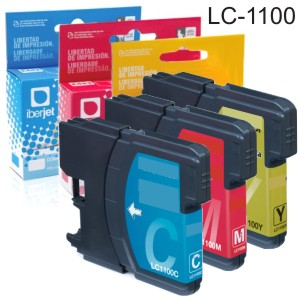 Comprar Compatible Brother LC1100 LC-1100 cartucho tinta cada color
