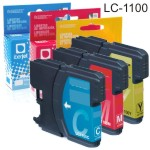 Compatible Brother LC1100 LC-1100 cartucho tinta cada color