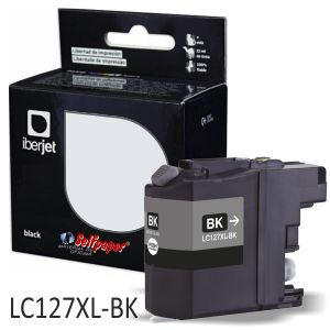 Compatible Brother LC127XLBK Negro 1200 paginas