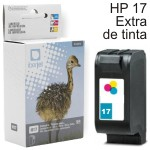 Compatible Hp 17 color cartucho C6625AE Hewlett Packard
