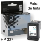 Compatible HP 337 cartucho C9364EE negro 13ml Doble Tinta