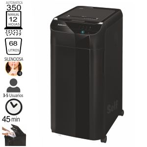 Fellowes Automax Tm 350C, Destructora automática