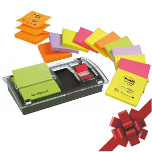 Post-It DS100-VP Dispensador + 12 notas Z colores