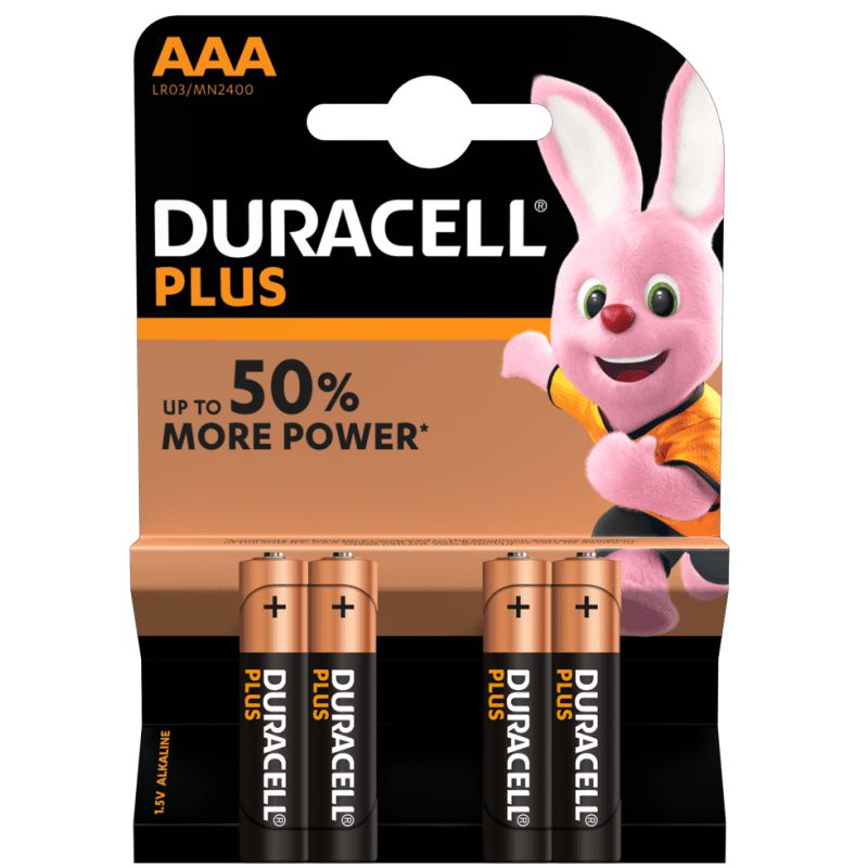duracell plus power pilas alcalinas bateria 942796