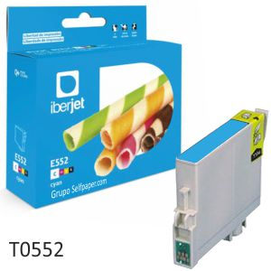 Epson T0552 T0553 T0554 Cartucho tinta compatible,cada color