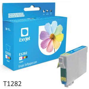 Epson T1282 T1283 o T1284 cartucho tinta compatible color