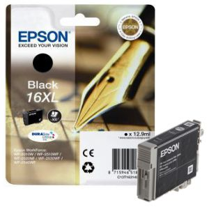 Epson T1631 16XL - Cartucho negro 500 pags. Workforce WF2510