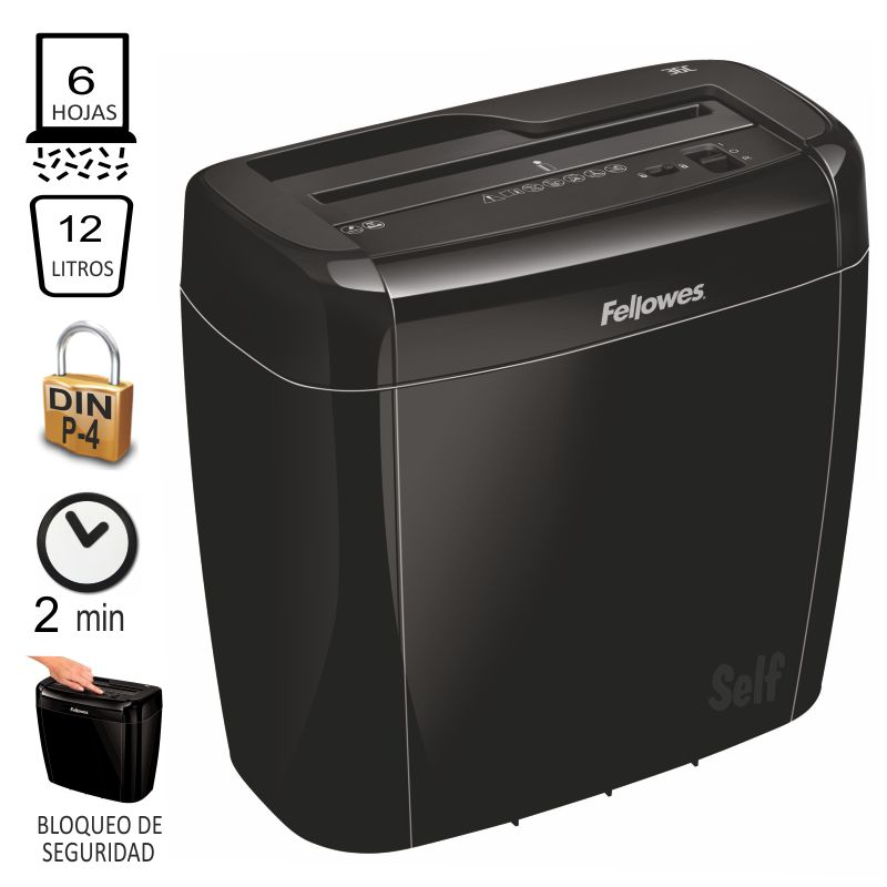 fellowes 36c destructora de papel particulas 47003