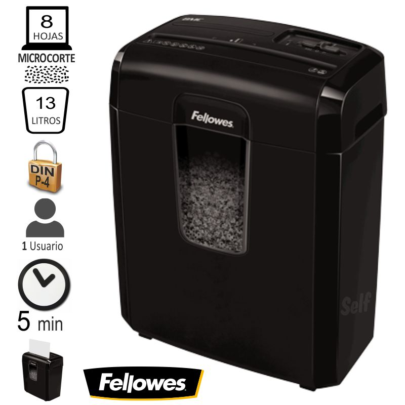 fellowes 8mc destructora microparticulas p 4