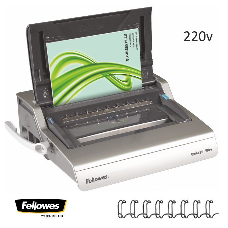 fellowes galaxy e wire encuadernadora wire o