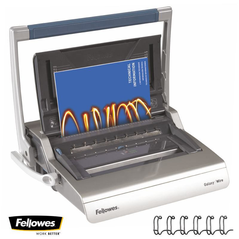 fellowes galaxy wire encuadernadora wire o