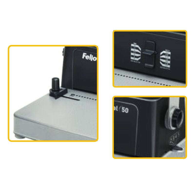 fellowes metal 50 3005001 encuadernadora