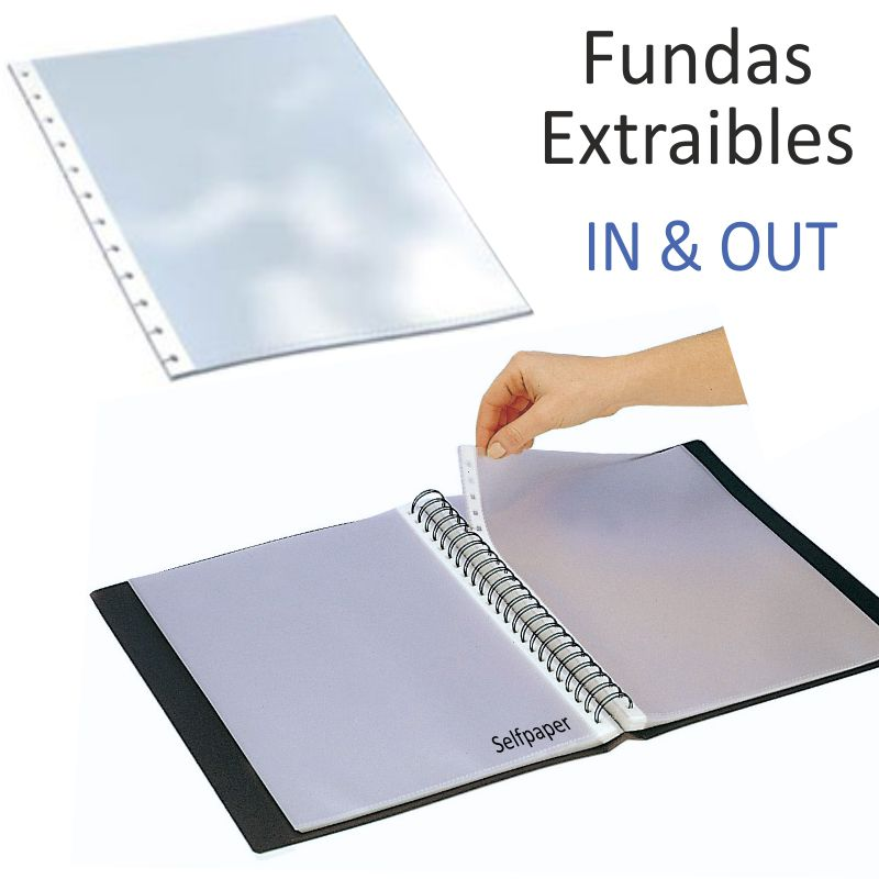 Comprar Fundas Grafoplas In & out extraibles Din A4, Pack 10