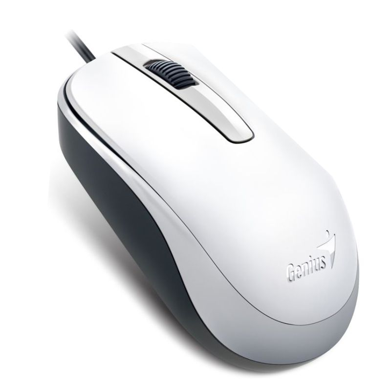 genius dx 120 blanco raton optico economico