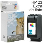 HP 23 Cartucho compatible tinta color C1823D