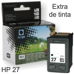 HP 27 remanufacturado cartucho tinta 19 ml C8727A negro