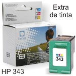 HP 343 Compatible cartucho C8766EE Maxi Tinta Color
