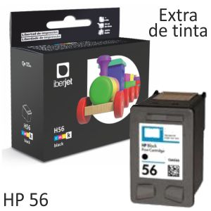 Compatible HP 56 Cartucho tinta C6656A remanufacturado