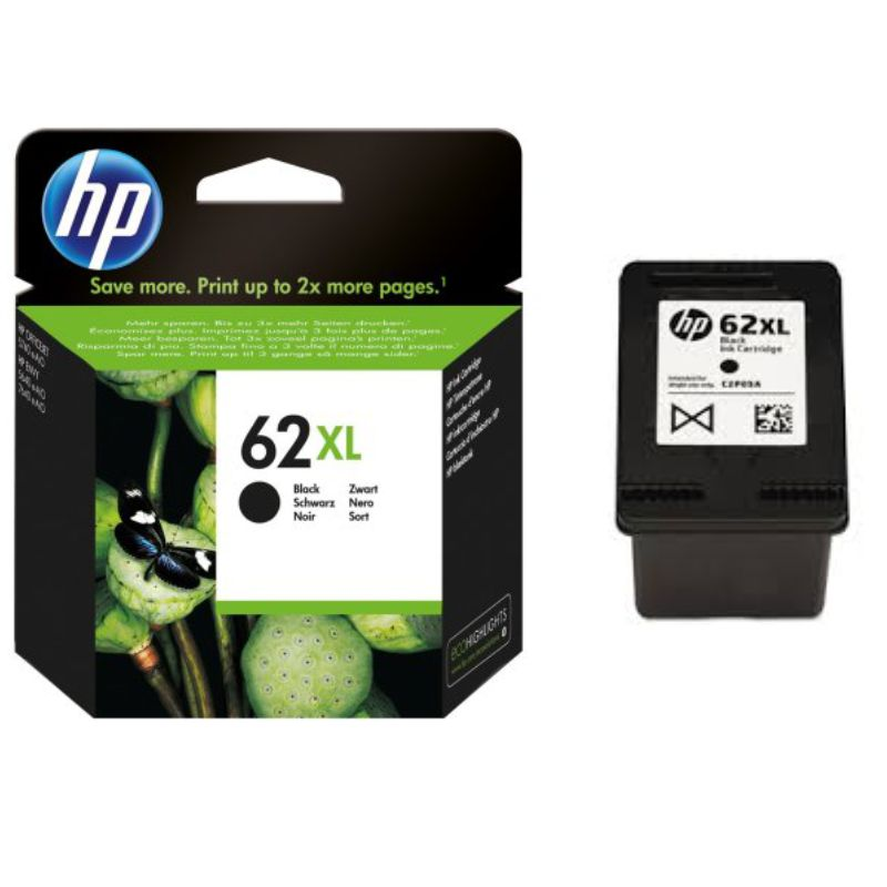 Comprar HP 62XL Negro, cartucho tinta original, Envy 5640 7640