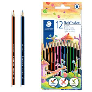 Lapices de madera Staedtler Noris Colour 12 colores