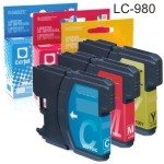 LC-980 Brother compatible cartucho tinta cada color