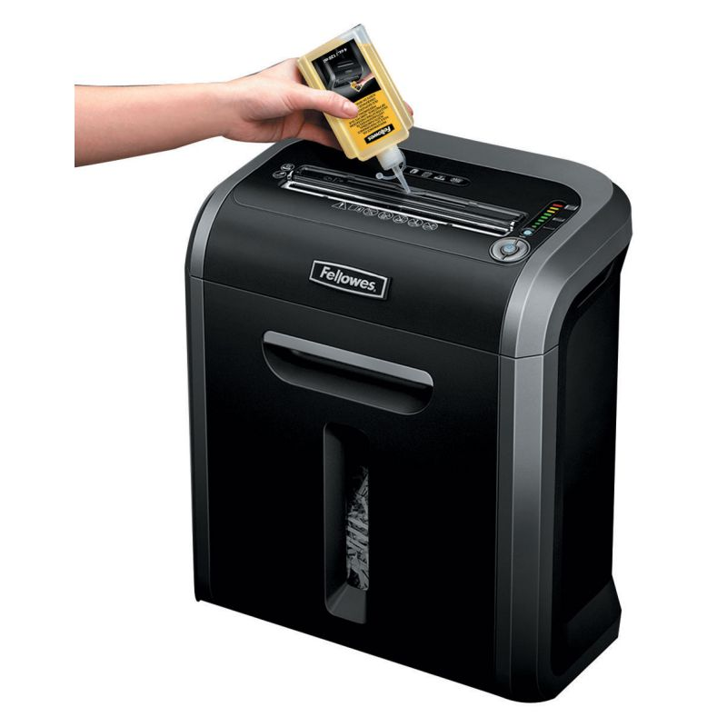 lubricar cuchillas destructoras fellowes