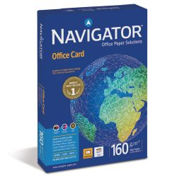 Papel Navigator 160 gramos, Din A4, Office Cards