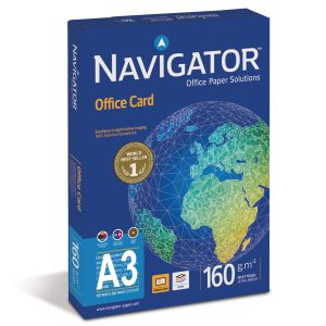 Papel Din A3 160 gramos Navigator office cards color 250 hjs