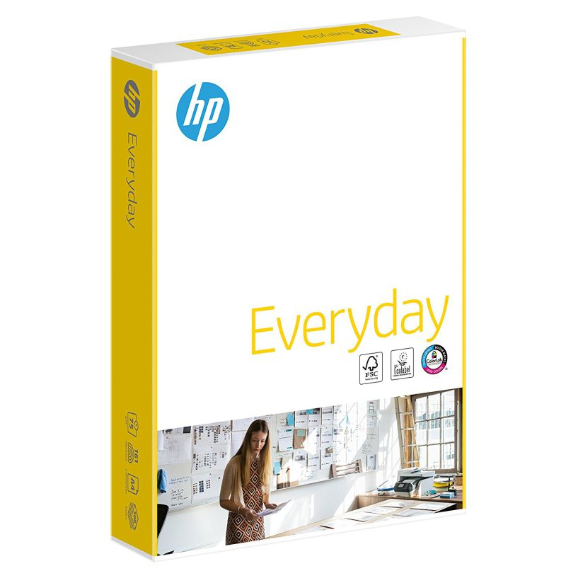 Comprar Papel HP Everyday, uso diario, 75 gramos, folios Din A4