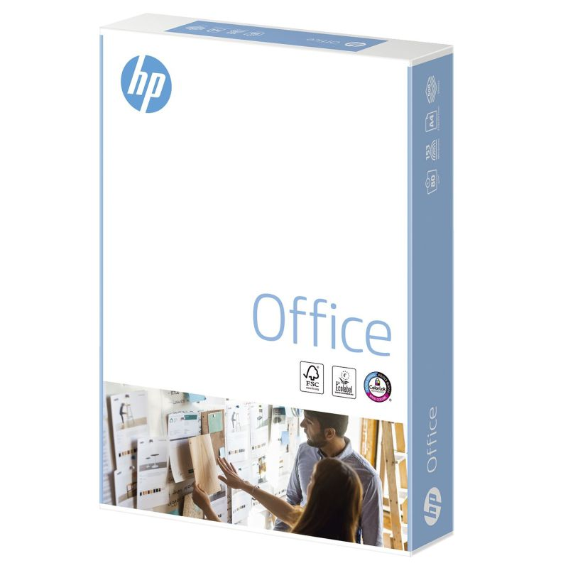 papel hp office chp110 folios din a4 rendimiento