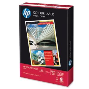 Papel Laser Color 160 gramos HP Colour, Din A4