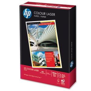 Papel Laser color 250 gramos - HP Colour Laser - satinado A4