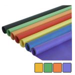 papel continuo embalar kraft de colores 1 mt x 3 metros