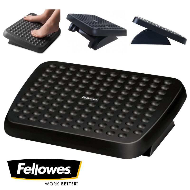 reposapies fellowes 48121 70 ajustable ergonomico
