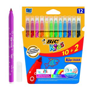 Bic Kids 10+2 Rotuladores escolares ultra lavables