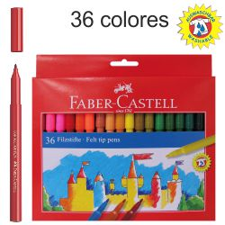Rotuladores Faber-castell 36 Colores